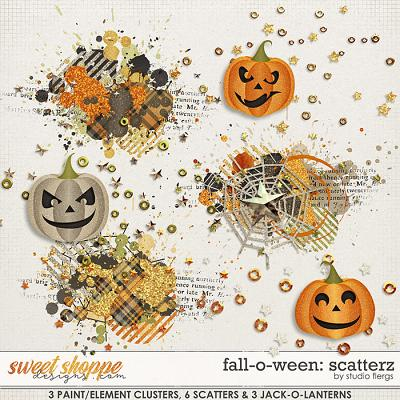 Fall-o-ween: SCATTERZ by Studio Flergs