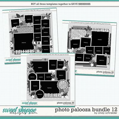 Cindy's Layered Templates - Photo Palooza Bundle 12 by Cindy Schneider