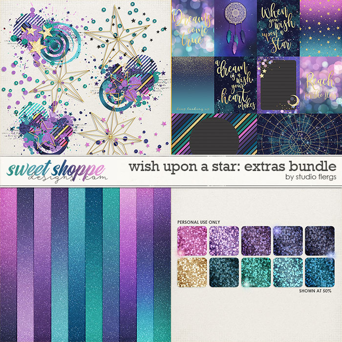 Wish Upon a Star: EXTRAS BUNDLE by Studio Flergs