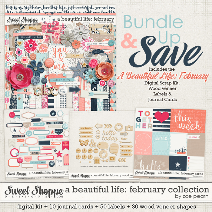 A Beautiful Life: February Value Bundle by Zoe Pearn