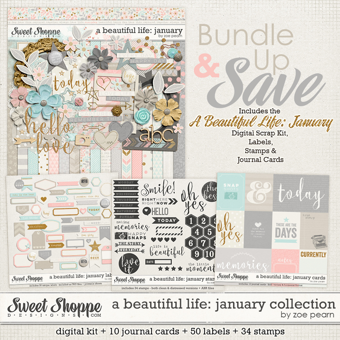 A Beautiful Life: January Value Bundle by Zoe Pearn