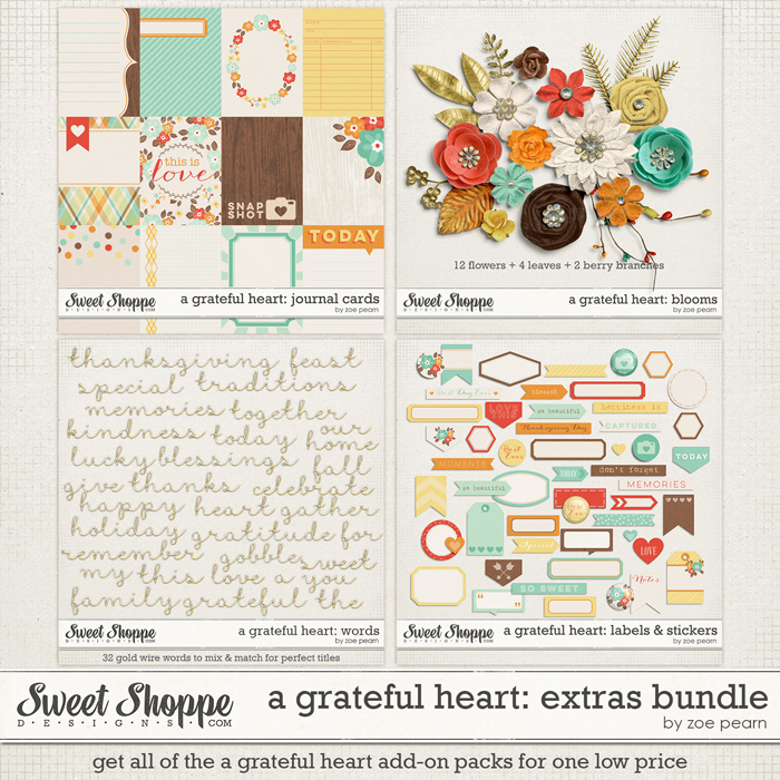 A Grateful Heart: Extras Value Pack by Zoe Pearn