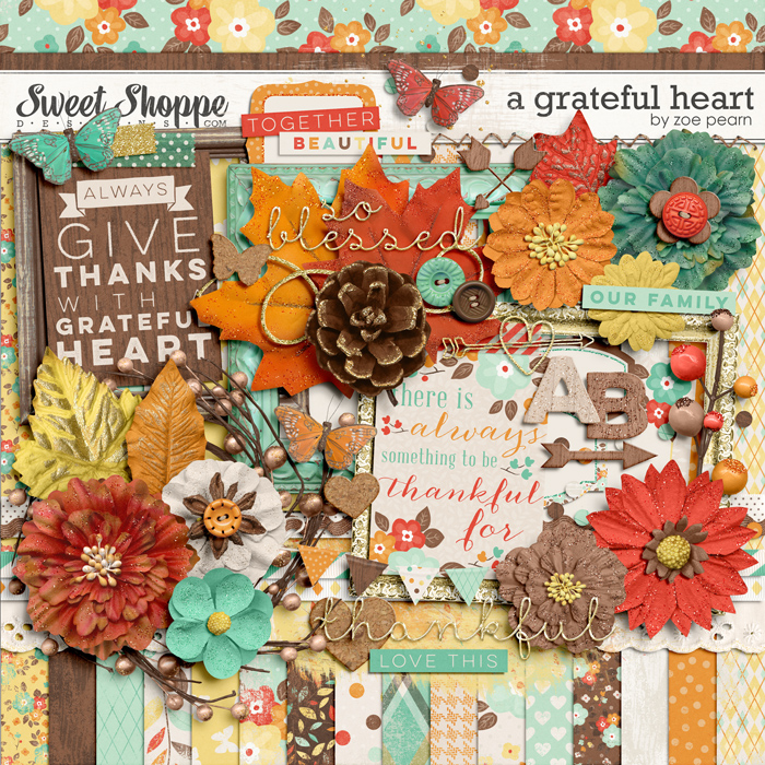 A Grateful Heart by Zoe Pearn