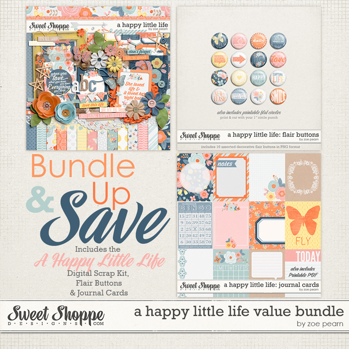 A Happy Little Life: Value Bundle by Zoe Pearn