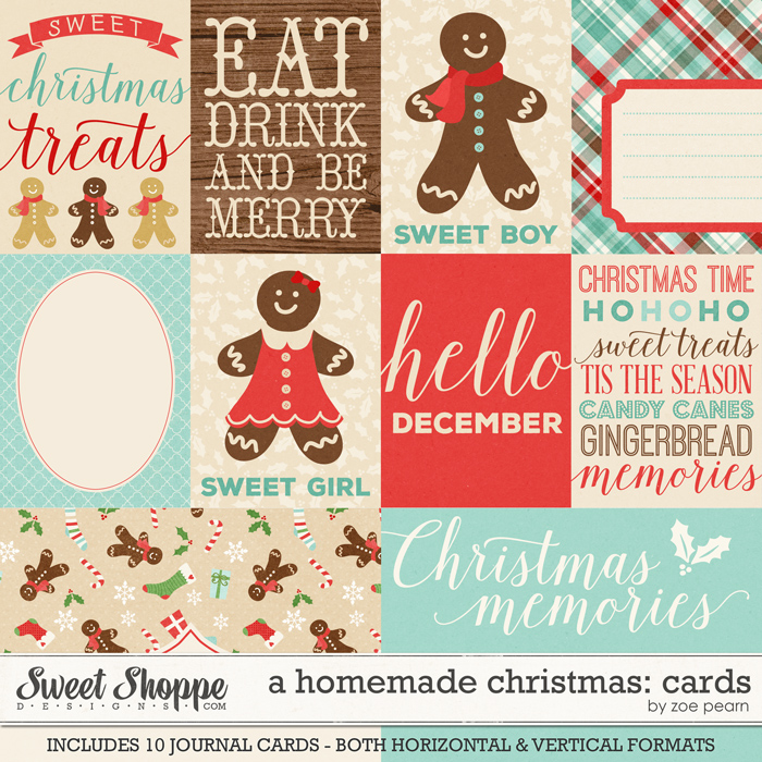 A Homemade Christmas: Journal Cards by Zoe Pearn