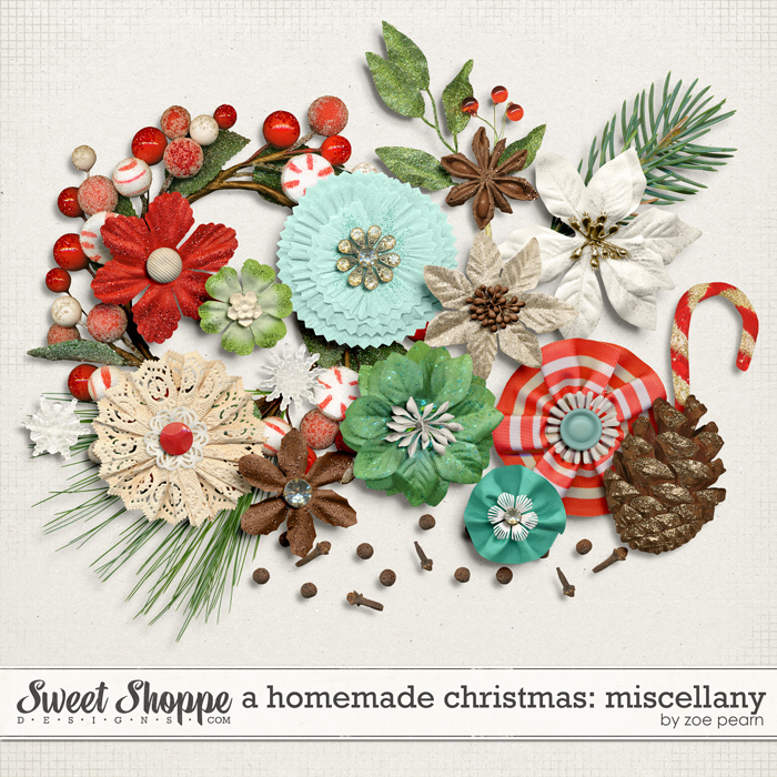 A Homemade Christmas: Miscellany by Zoe Pearn