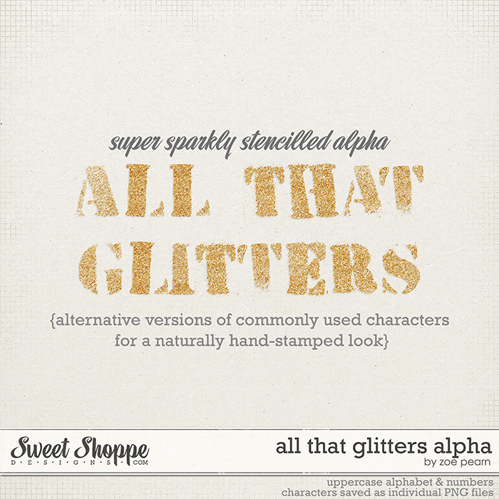 All That Glitters Alpha by Zoe Pearn