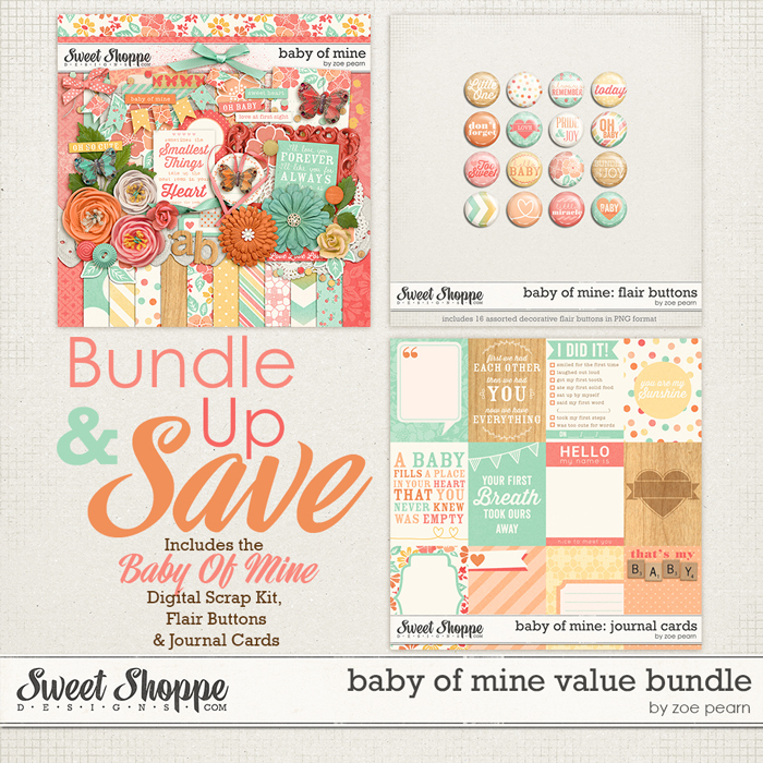 Baby Of Mine: Value Bundle by Zoe Pearn
