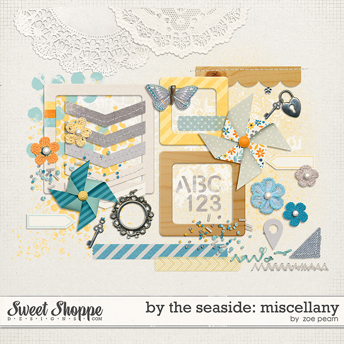 By The Seaside: Miscellany by Zoe Pearn