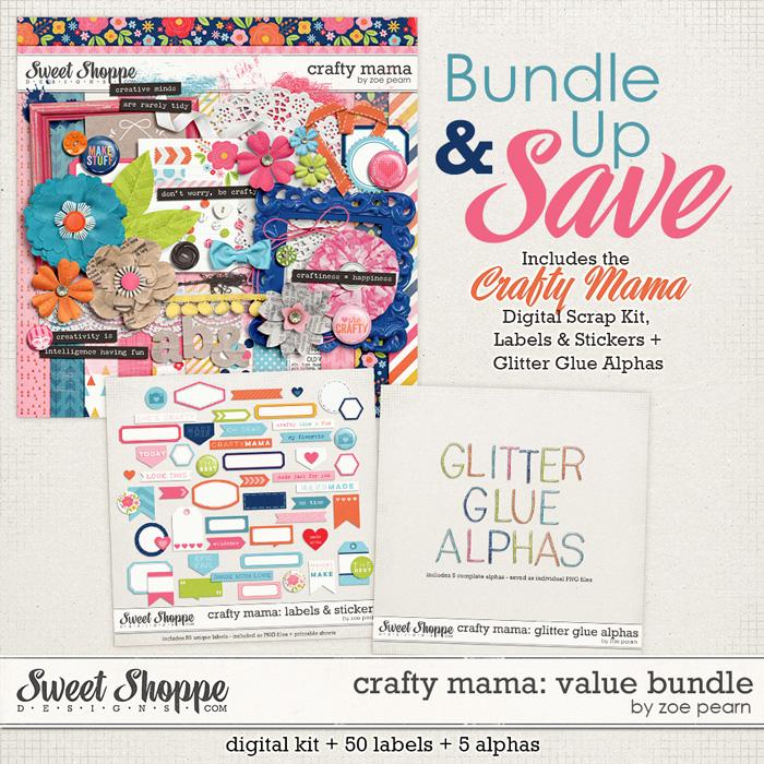Crafty Mama: Value Bundle by Zoe Pearn