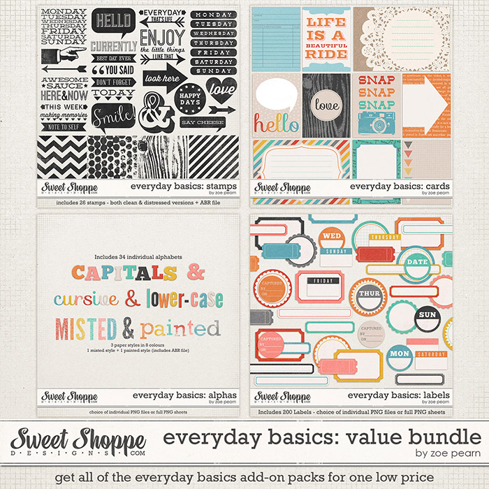 Everyday Basics: Value Bundle by Zoe Pearn