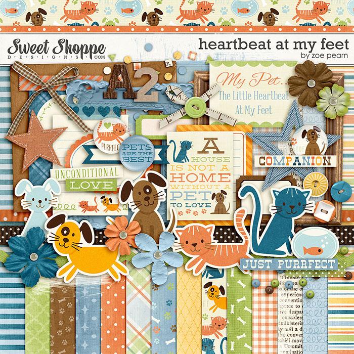 Heartbeat At My Feet by Zoe Pearn
