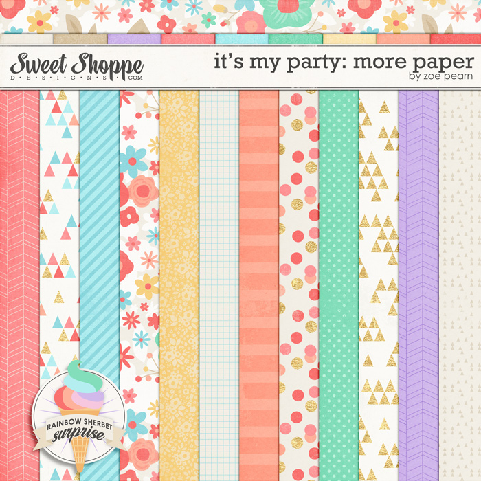 It's My Party: More Papers by Zoe Pearn