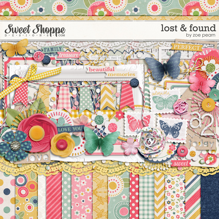 Lost & Found by Zoe Pearn