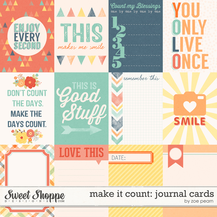 Make It Count: Journal Cards by Zoe Pearn