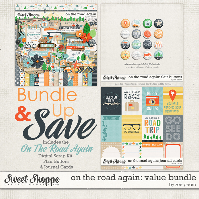 On The Road Again: Value Bundle by Zoe Pearn