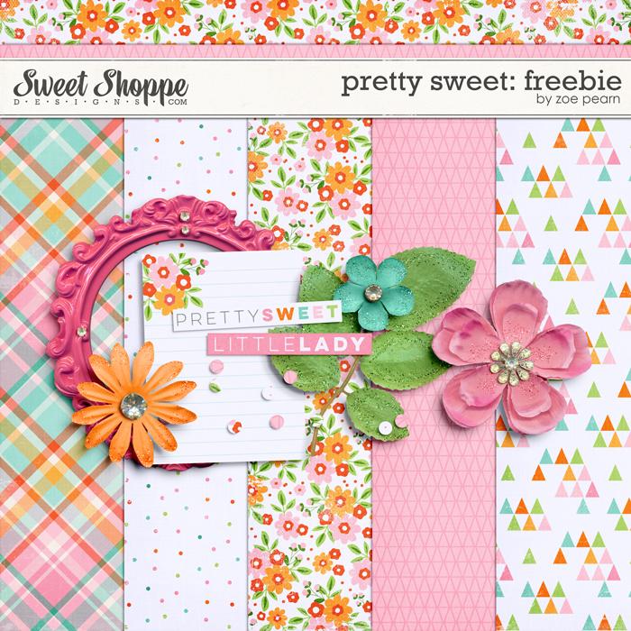 Pretty Sweet: Freebie by Zoe Pearn