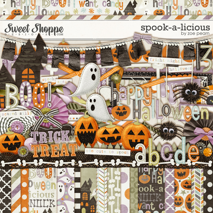 Spook-A-Licious by Zoe Pearn