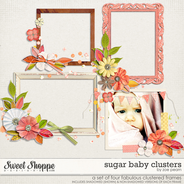 Sugar Baby Clusters by Zoe Pearn