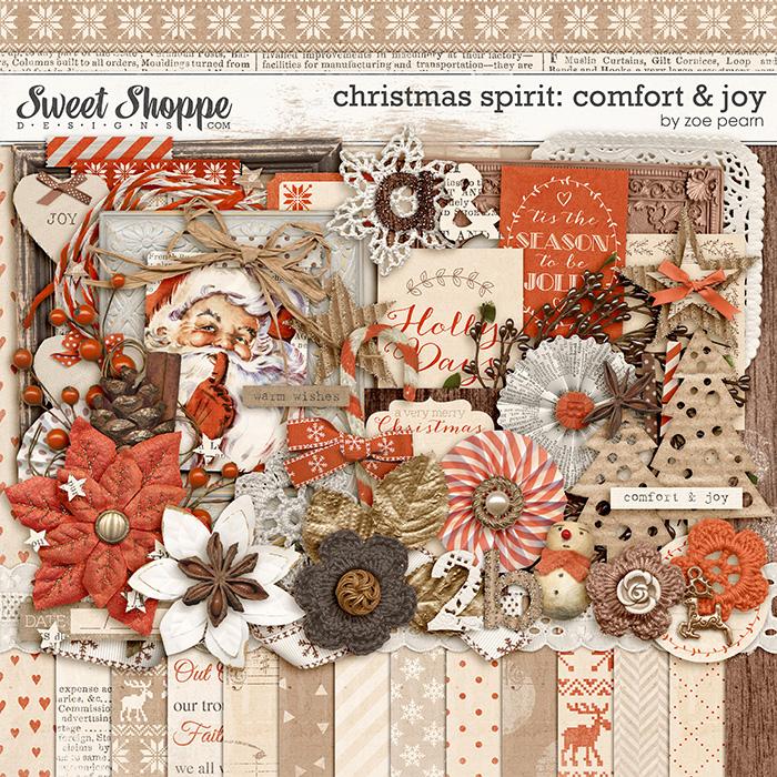 Christmas Spirit: Comfort & Joy by Zoe Pearn