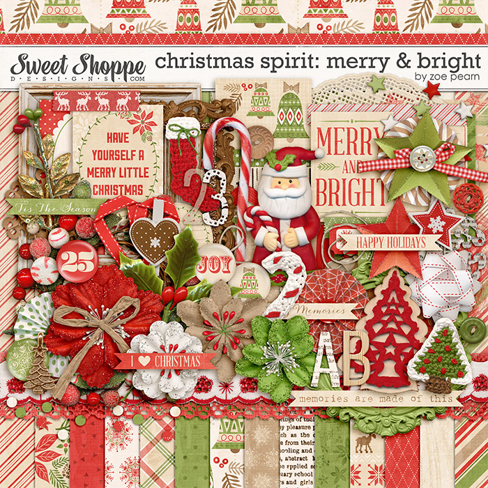 Christmas Spirit: Merry & Bright by Zoe Pearn