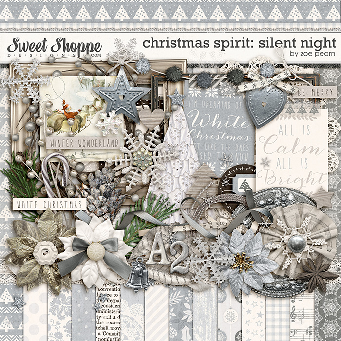 Christmas Spirit: Silent Night by Zoe Pearn
