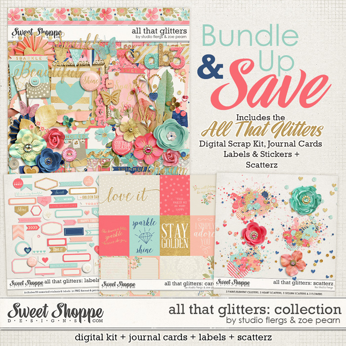 All That Glitters: Value Bundle by Studio Flergs & Zoe Pearn