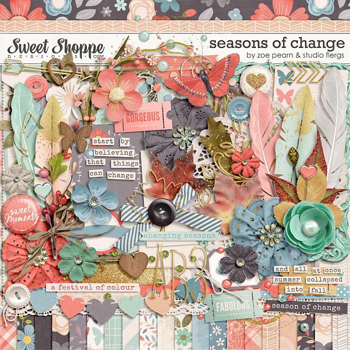 Seasons Of Change by Zoe Pearn & Studio Flergs
