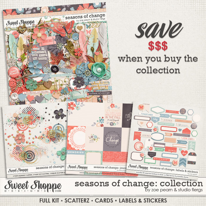 Seasons Of Change: COLLECTION by Zoe Pearn & Studio Flergs