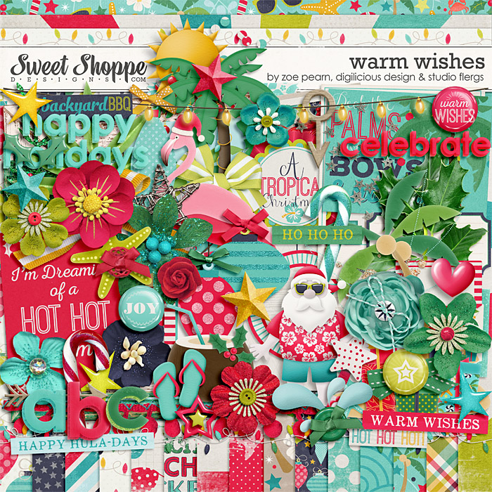 Warm Wishes by Studio Flergs, Zoe Pearn & Digilicious Design