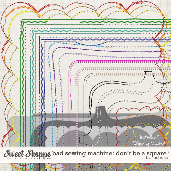Bad Sewing Machine 21 - Traci Reed