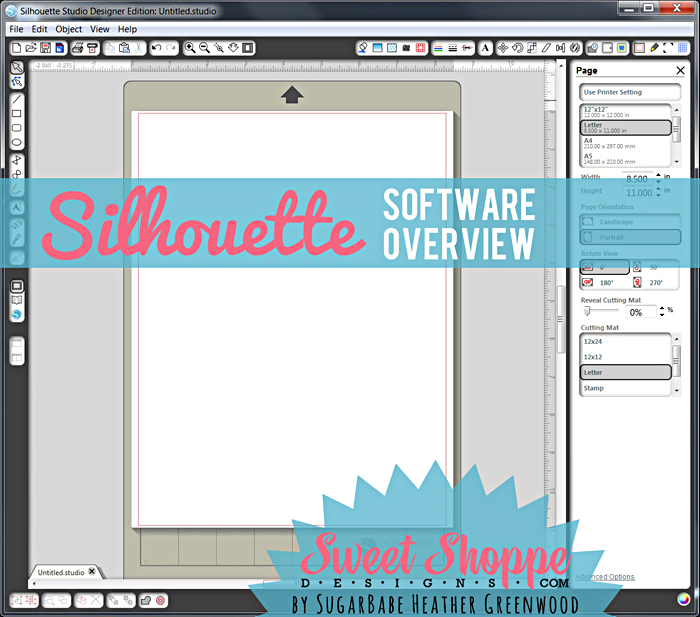Silhouette Software Overview Tutorial