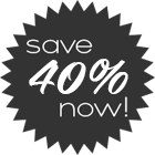 Save 20% Now!
