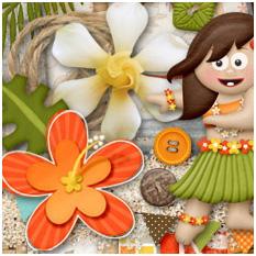 Aloha! by Lliella Designs