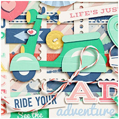 Ride Your Adventure by Jady Day Studio