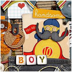 Heart This Boy by Studio Basic
