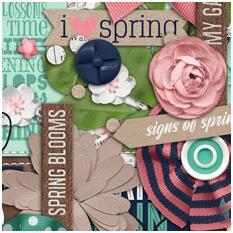 4 Kraft Signs of Spring Shawna