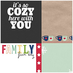 A Happy Family Bundled Up Journal Cards by Traci Reed and Shawna Clingerman