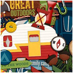 A Happy Family Gone Camping by Traci Reed and Shawna Clingerman