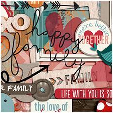 A Happy Family Lovin' Life by Traci Reed and Shawna Clingerman