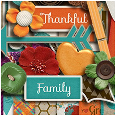 Thankful for Family by Melissa Bennett & Meagan's Creations