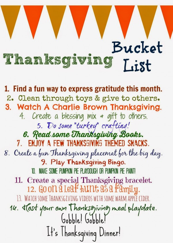 ThanksgivingBucketList