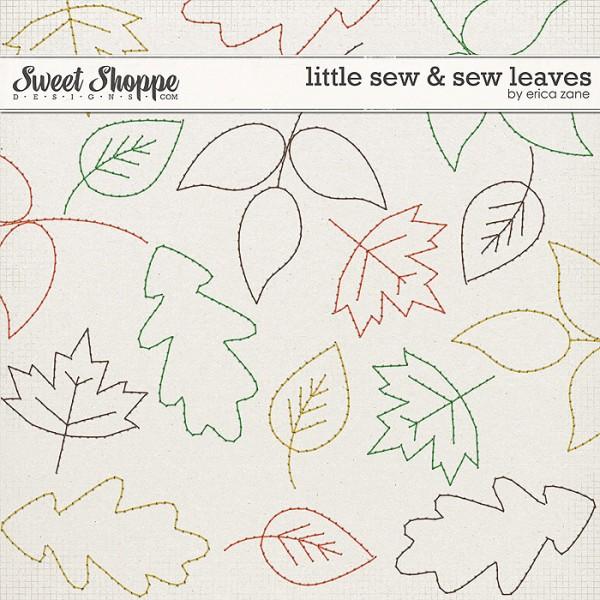 Little Sew & Sew Leaves by Erica Zane
