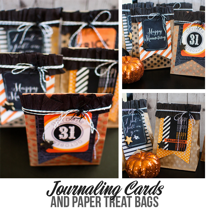 Journaling Cards and Paper Bags