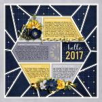 Layout by Jacinda using Countdown to Midnight by lliella designs