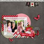 Layout by Jacinda using Hearts Day by lliella designs