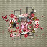 Layout by Kjersti using Hearts Day by lliella designs