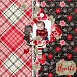 Layout by Hailey using Hearts Day by lliella designs