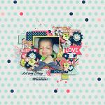 Sweet Things :: Layout by Jenna