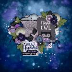 Layout by Britanee using Night Owl by lliella designs